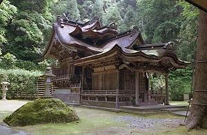 大滝神社本殿及び拝殿 おたきじんじゃほんでんおよびはいでん