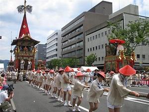 京都八坂神社の祗園祭 きょうとやさかじんじゃのぎおんまつり