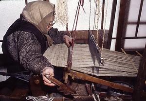 丹後の藤布紡織習俗 たんごのふじぬのぼうしょくしゅうぞく