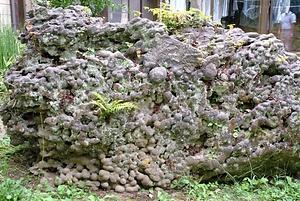 飯久保の瓢箪石 いくぼのひょうたんいし
