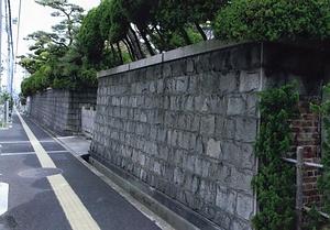 寺田家住宅石垣塀 てらだけじゅうたくいしがきへい