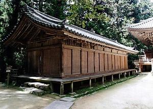 円教寺奥之院 護法堂拝殿 えんぎょうじおくのいん ごほうどうはいでん